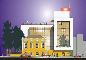 Projeto de restauração da Casa dos Conselhos| Imagem: CMC/POA