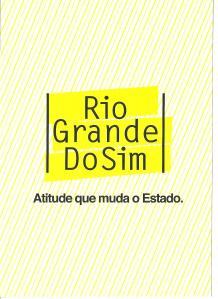 Folder Rio Grande do Sim capa