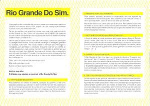 Folder Rio Grande do Sim interno
