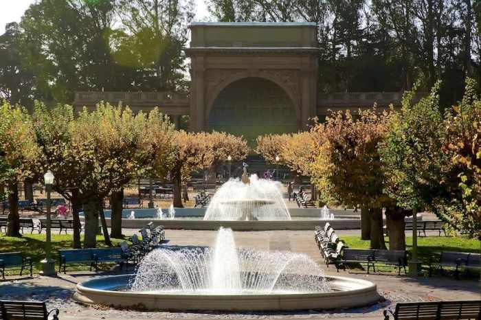 golde gate park SF