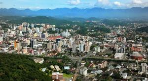 Joinville, a maior cidade de Santa Catarina.