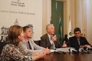 Fortunati: intenção é verificar se há desacordo entre o projeto e a execução da obra  Foto: Luciano Lanes/PMPA