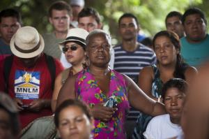 Um incêndio na Vila Liberdade deixou 150 famílias desabrigadas no dia 27 de janeiro | Foto: Ramiro Furquim/Sul21