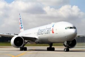 Boeing 767-300 da America Airlines, já com a pintura nova. Foto: American/Divulgação