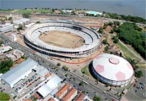 Valor das obras do estádio do Inter registrou crescimento de 75%  Crédito: Site Inter / Divulgação CP