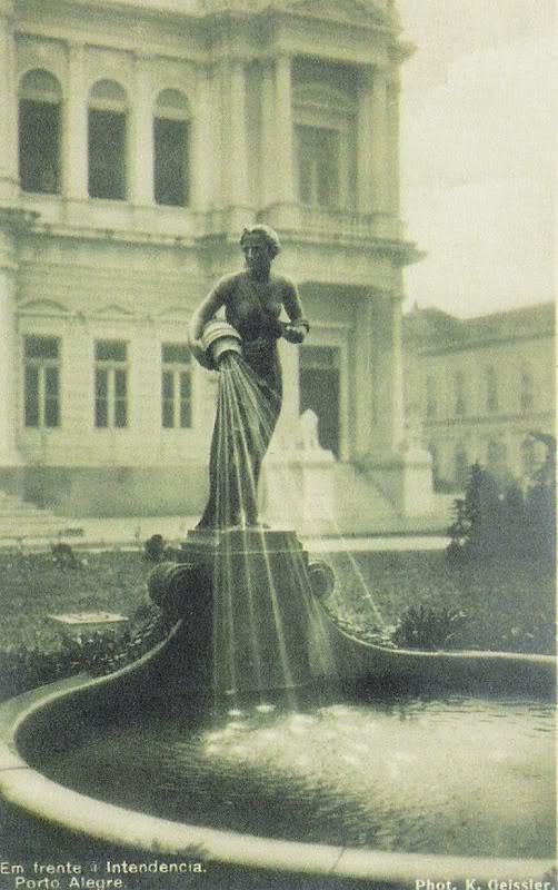 Porto_Alegre_Fonte_A_Samaritana_Praça_Montevidéu_1925
