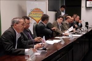 Reunião ordinária da Comissão de Assuntos Municipais nesta terça-feira (16). /Foto: Marina Lovato | Agência ALRS