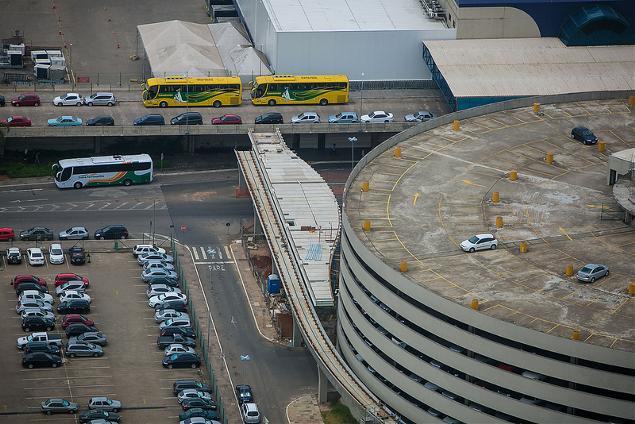 Aeroporto de Porto Alegre deve ter novas obras de ampliação até a Copa (crédito: Ministério do Esporte)