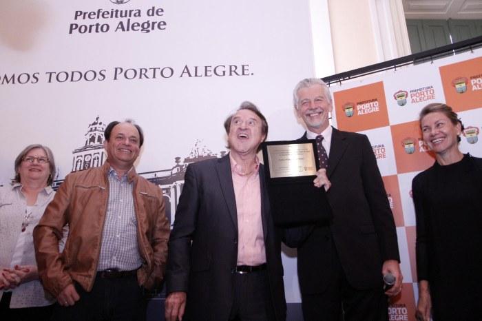 Com Villagrán, 19 personalidades têm a missão de divulgar a Capital e a Copa  Foto: Ivo Gonçalves/PMPA