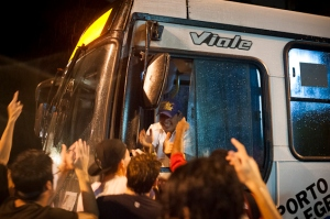 A ATP buscava o efeito suspensivo da liminar obtida no dia 4 de abril pela banca do PSOL na Câmara de Vereadores, que cancelou o último aumento da passagem | Foto: Ramiro Furquim/Sul21