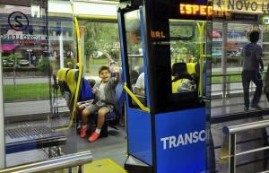 Transoeste, no Rio de Janeiro  créditos: Mariana Gil