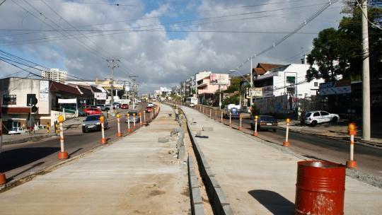 BRT da avenida Protásio Alves: obras do terminal sem licitação (crédito: Divulgação)
