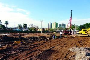 Quando obra estiver concluída, serão beneficiadas 1680 famílias cadastradas  Foto: Carlos Garcia/Divulgação PMPA