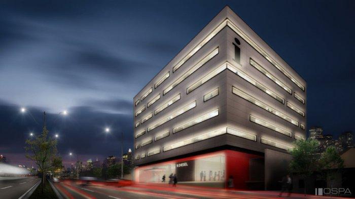 Representação gráfica da fachada do Hotel Interclass, em Porto Alegre Foto: Divulgação