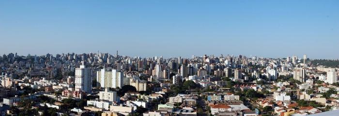 Porto Alegre - 37,7% das pessoas residem em apartamentos. Foto: Gilberto Simon - Porto Imagem