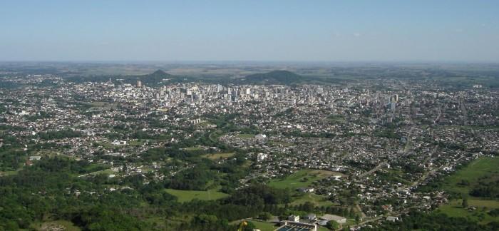 Santa Maria, a segunda cidade mais verticalizada do RS.