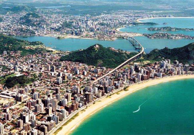 Vitória, Espírito Santo - capital mais verticalizada do Brasil