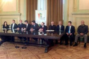 Governo assinou um termo de compromisso  Crédito: Divulgação Palácio Piratini / CP