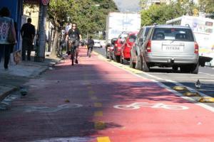 Ciclovia da Rua José do Patrocínio  Crédito: Vanessa Silva/PMPA/CP