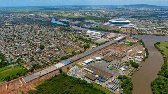 Elevada da Rodovia do Parque já tem mais de 90% dos trabalhos finalizados - Foto: Foto: Divulgação / ImagemAereaRS