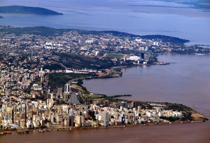 Porto Alegre: uma cidade bonita, mas sem aproveitamento do seu potencial. Foto: Gerson Ibias