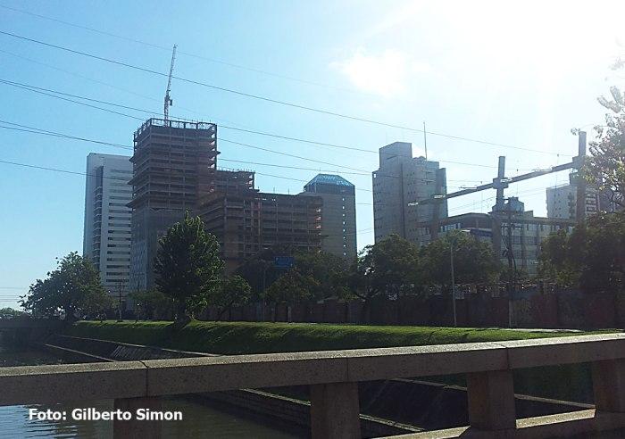 Torre central do TrendCity Center terá 27 andares. Foto: Gilberto Simon