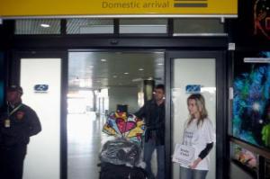 CIT no aeroporto incorpora atendimento em francês para o jogo Brasil e França   Foto: Divulgação/PMPA