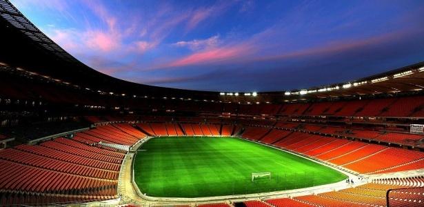 Cadeiras do novo Beira-Rio serão iguais as utilizadas no Soccer City (foto) e chegam no próximo mês