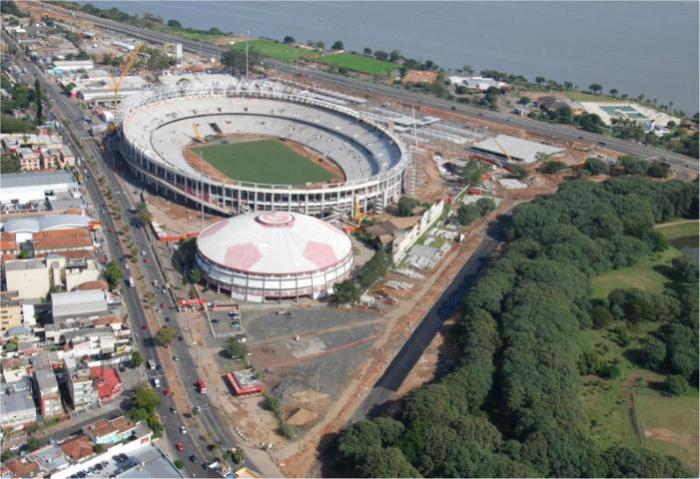 Inter ainda acredita em acordo sobre a obra   Crédito: Divulgação / AG / CP