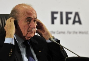 Blatter mostrou descontentamento com protestos ocorridos no Brasil (crédito: Marcello Casal Jr./ABr)