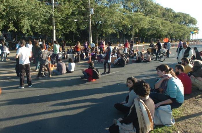 Audiência de conciliação para desocupação do Legislativo começou com uma hora de atraso.  Crédito: Paulo Nunes