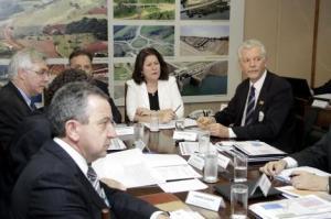 Reunião em Brasília debateu aporte adicional de R$ 2,3 bilhões ao projeto   Foto: Paulo Negreiros/Divulgação PMPA