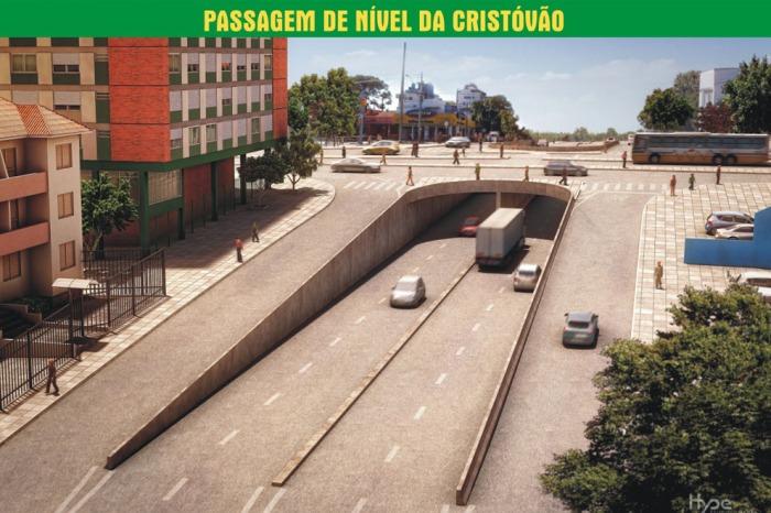 Intervenção irá melhorar fluxo de 82 mil veículos que circulam ao dia na região   Foto: Divulgação/PMPA