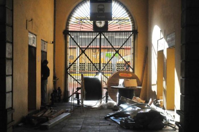 Mercado Público permanece fechado duas semanas após incêndio.Clique para ver mais fotos  Crédito: André Ávila