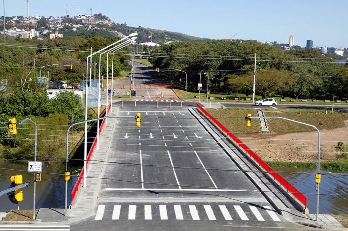 Trânsito na segunda ponte será liberado às 10h desta quarta-feira  Foto: Ivo Gonçalves/PMPA