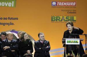 Aeromóvel mostra que Brasil tem espírito inovador, diz Dilma Crédito: Ricardo Giusti