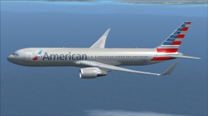 Boeing 767-300 da American Airlines será a aeronave utilizada nos voos a Miami. Foto: AA/Divulgação
