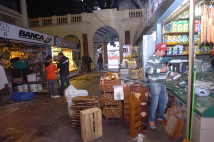 Mercado reabre na terça. Foto: Paulo Nunes