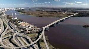 Nova ponte que será construída sobre o Guaíba.