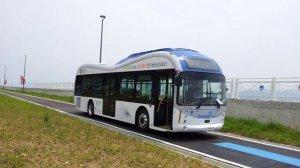 Ônibus não precisa das tradicionais redes exposta.  créditos: Divulgação / KAIST
