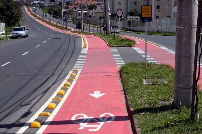Localizada no bairro Rubem Berta, nova ciclovia tem 1,1 quilômetro    Foto: Anselmo Cunha/PMPA