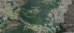 Mapa: Google + Blog Porto Imagem