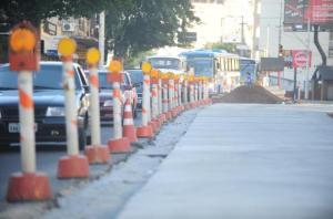 Obras dos futuros corredores BRT estão atrasadas Crédito: André Ávila / CP Memória