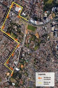 Linhas de ônibus terão itinerário alterado  Imagem: Divulgação/PMPA