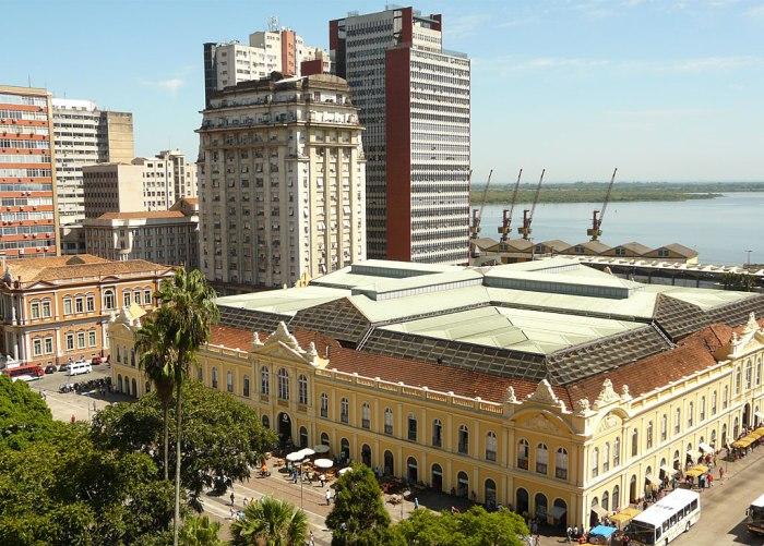 Mercado Público Central de Porto Alegre Foto: © Gilberto Simon