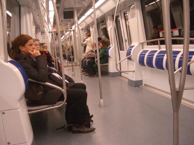 Modelo de Barcelona é referência mundial Crédito: Metrô de Barcelona / Divulgação / CP
