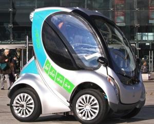 Modelo de carro elétrico que será usado em projeto créditos: Divulgação