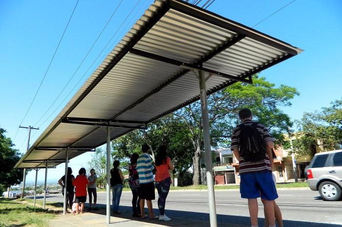 Com o novo abrigo, a cobertura foi ampliada, garantindo maior conforto  Foto: Thalles Campos/Divulgação PMPA