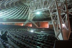 Araújo Vianna um dia antes de reinaugurar, dia 19/09/2012. Foto: Gilberto Simon