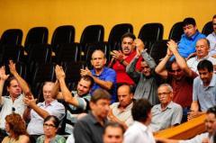 Público acompanhou votações no Plenário.  Foto: Leonardo Contursi